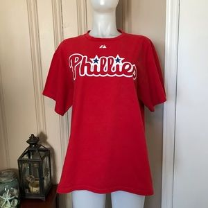 Phillies/Werth 28 T-Shirt Size Large